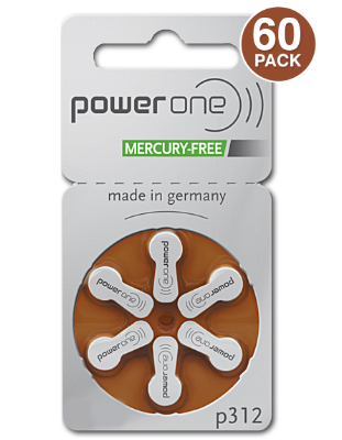 Affordable Power One Hearing Aid Batteries
