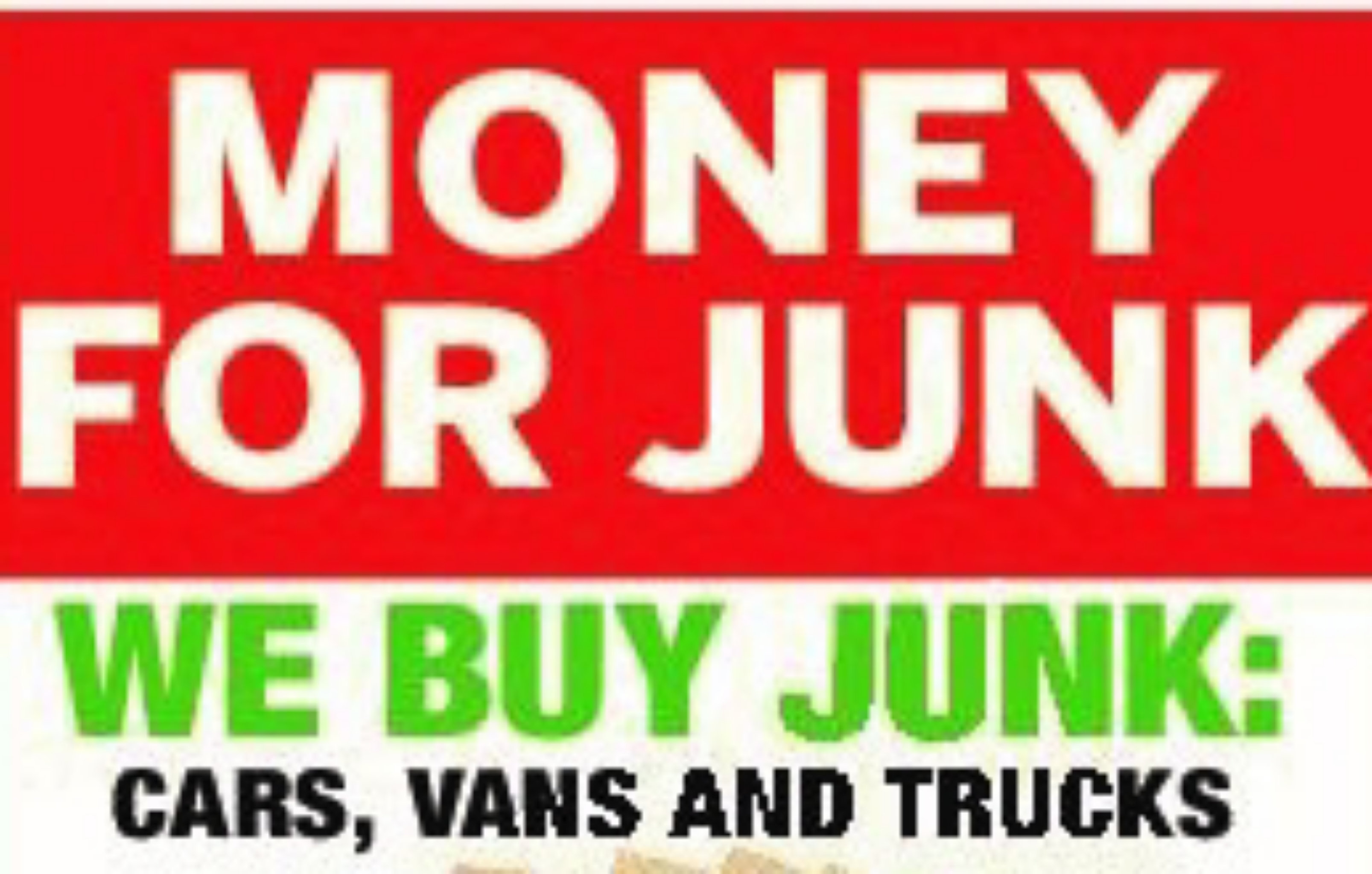 Express junk cars/ We'll pay you top dollar