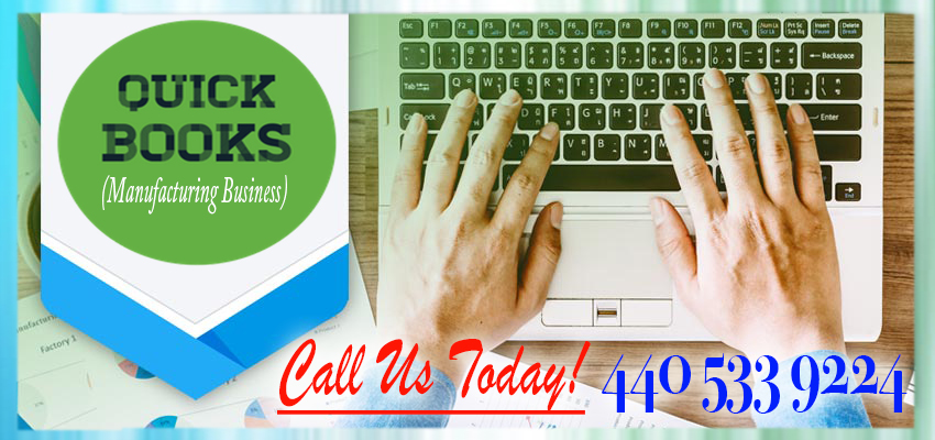 Online Class For One Day - QuickBooks For Manufacturing Business