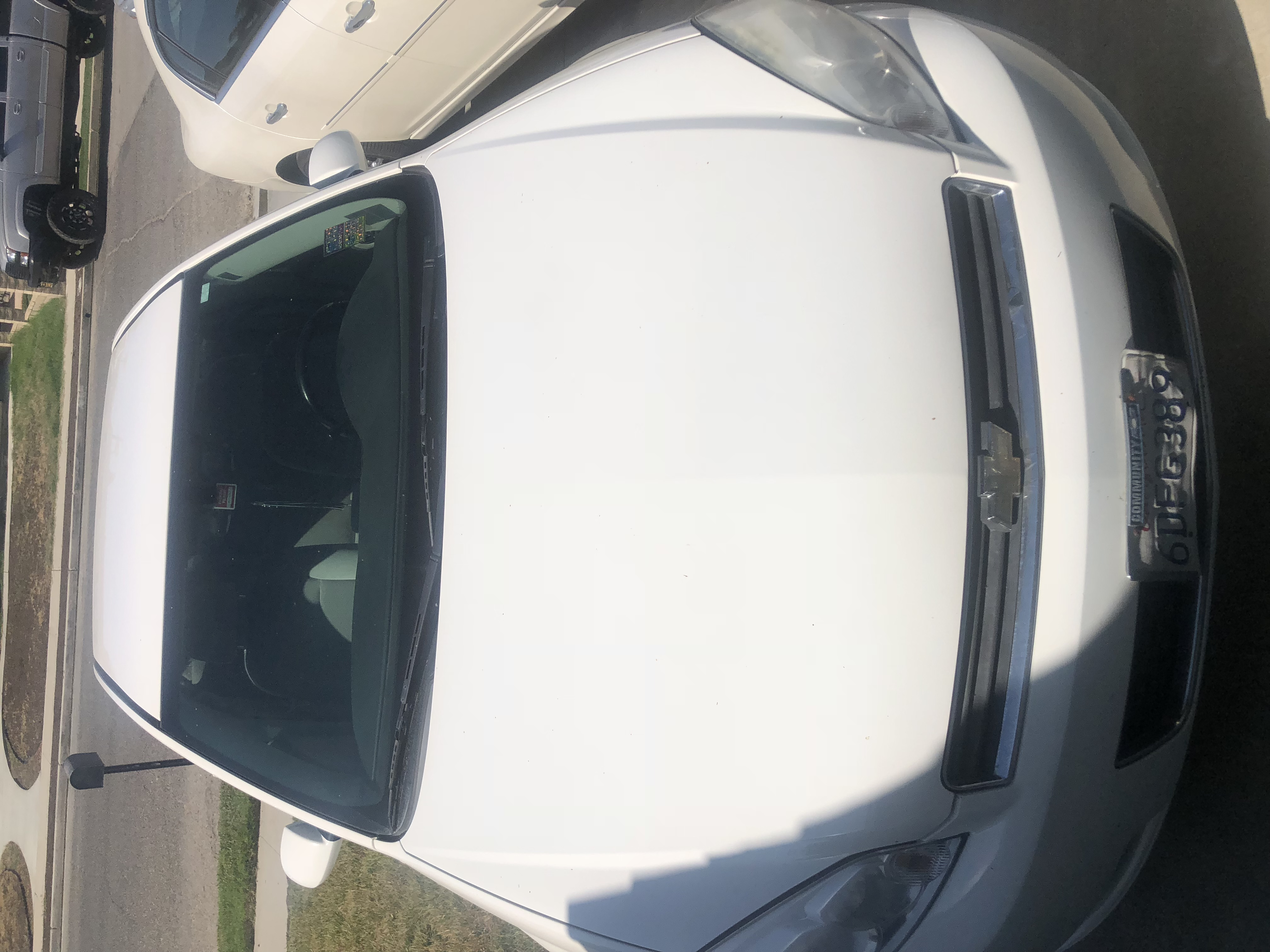2008 White Chevy Impala