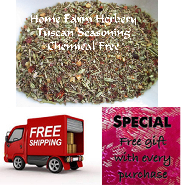 Tuscan Seasoning Blend, Order now FREE shipping, free gift, Buy 3 get 1 FREE