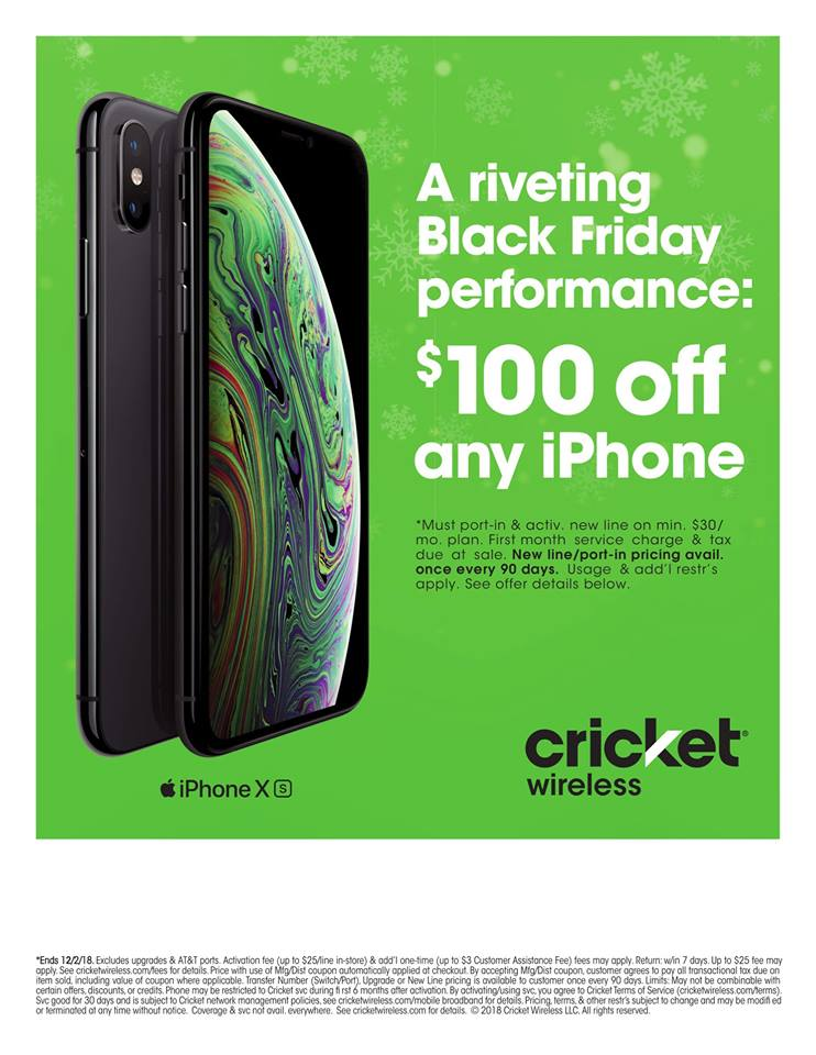 BLACK FRIDAY AMAZING DEALS ARE HERE TODAY @ CRICKET WIRELESS SOUTHFIELD!!