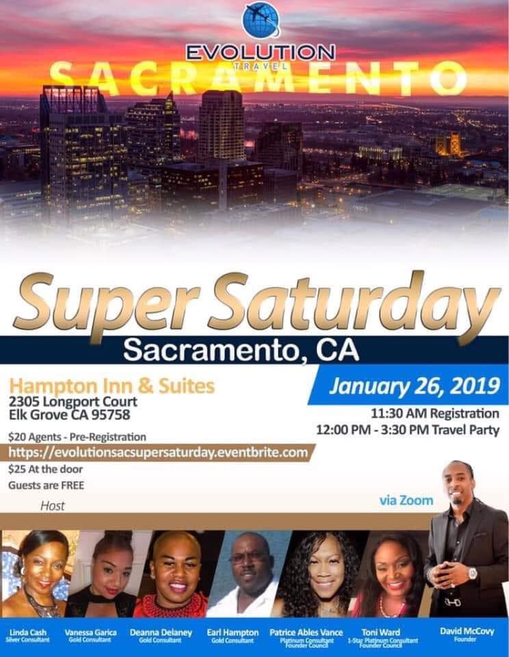 Become a Travel Agent and Join us on Super Saturday
