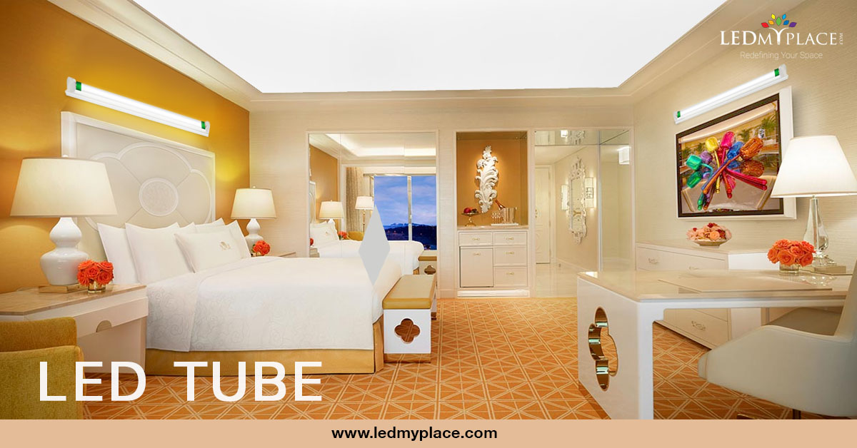 8ft LED Tube 48W 5800 Lumens Single Pin 5000k Clear