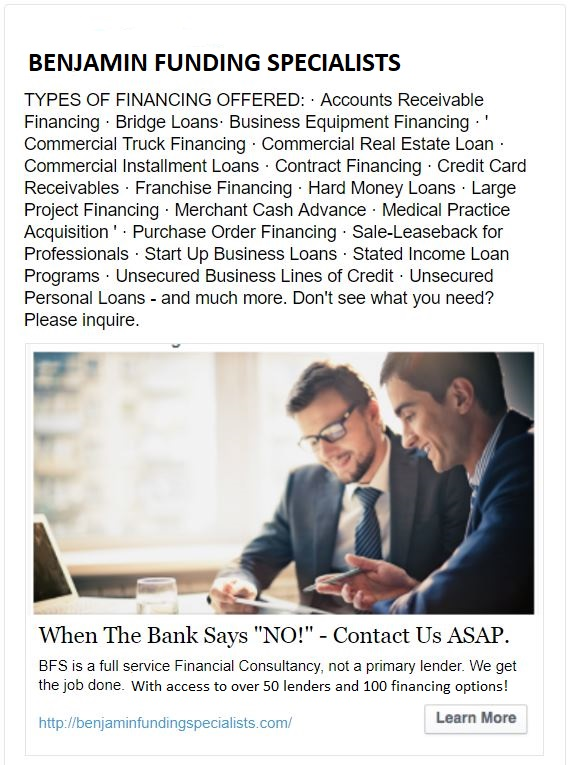 $$$ EASY AND FAST LOANS FOR SMALL BUSINESS AND INDIVIDUALS $$$