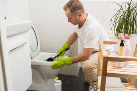 Commercial Bathroom Cleaning