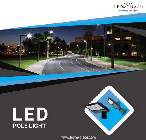 Get the Best Quality LED Pole Lights For Parking Lot, Street, hotels, motels.
