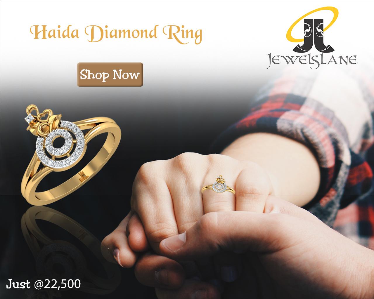 Haida Diamond Ring