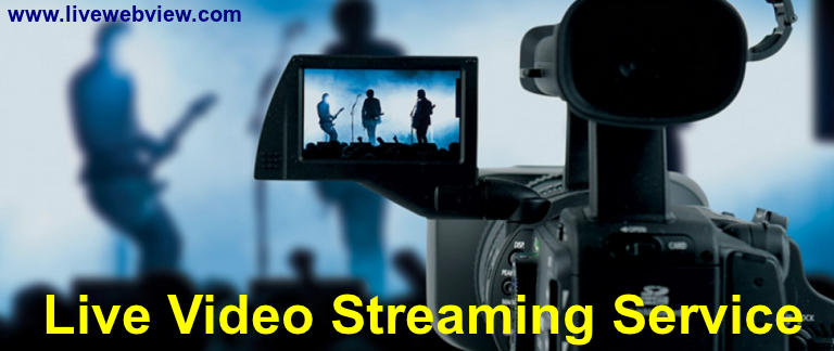 Live Video Streaming Service - Live Web View