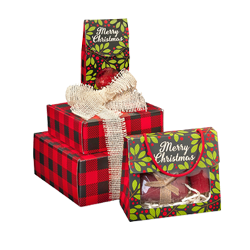 Get Custom Printed Christmas Gift Packaging Boxes