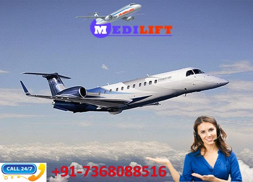 Low-Fare Aircraft Air Ambulance Service in Jamshedpur