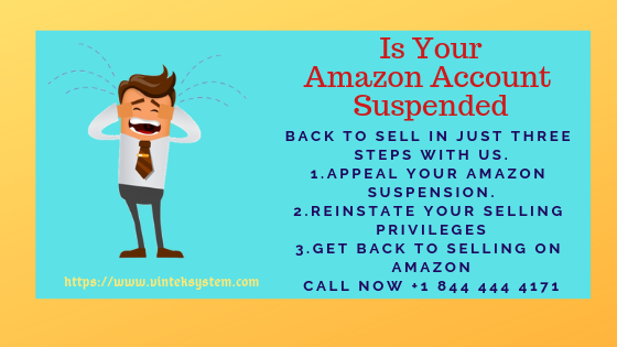Your Amazon Account Gets Suspended