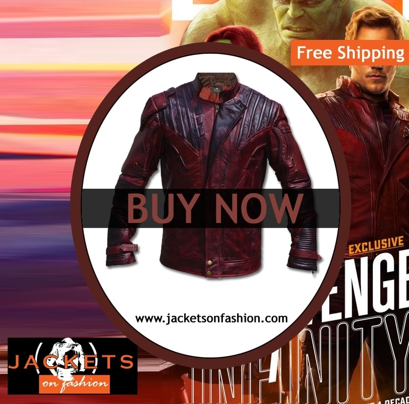 Infinity War STAR LORD JACKET
