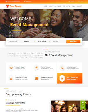 Party Hall Booking Script | Banquet Hall Management Booking Script