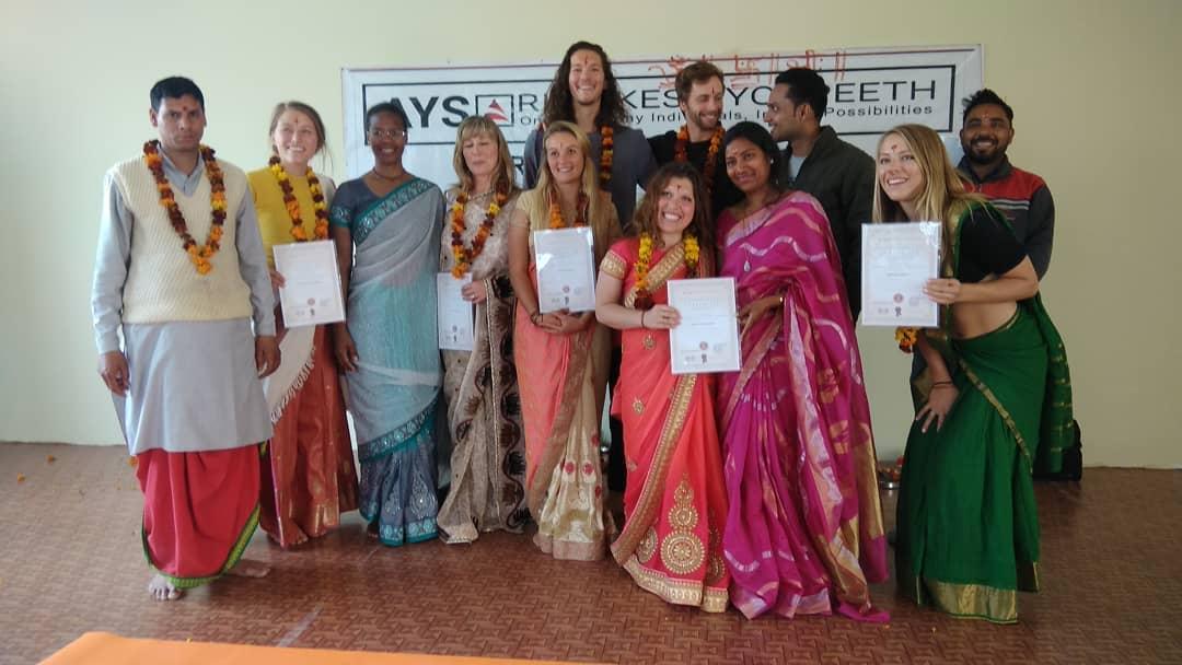 Hatha Yoga Teacher Training Course In Rishikesh