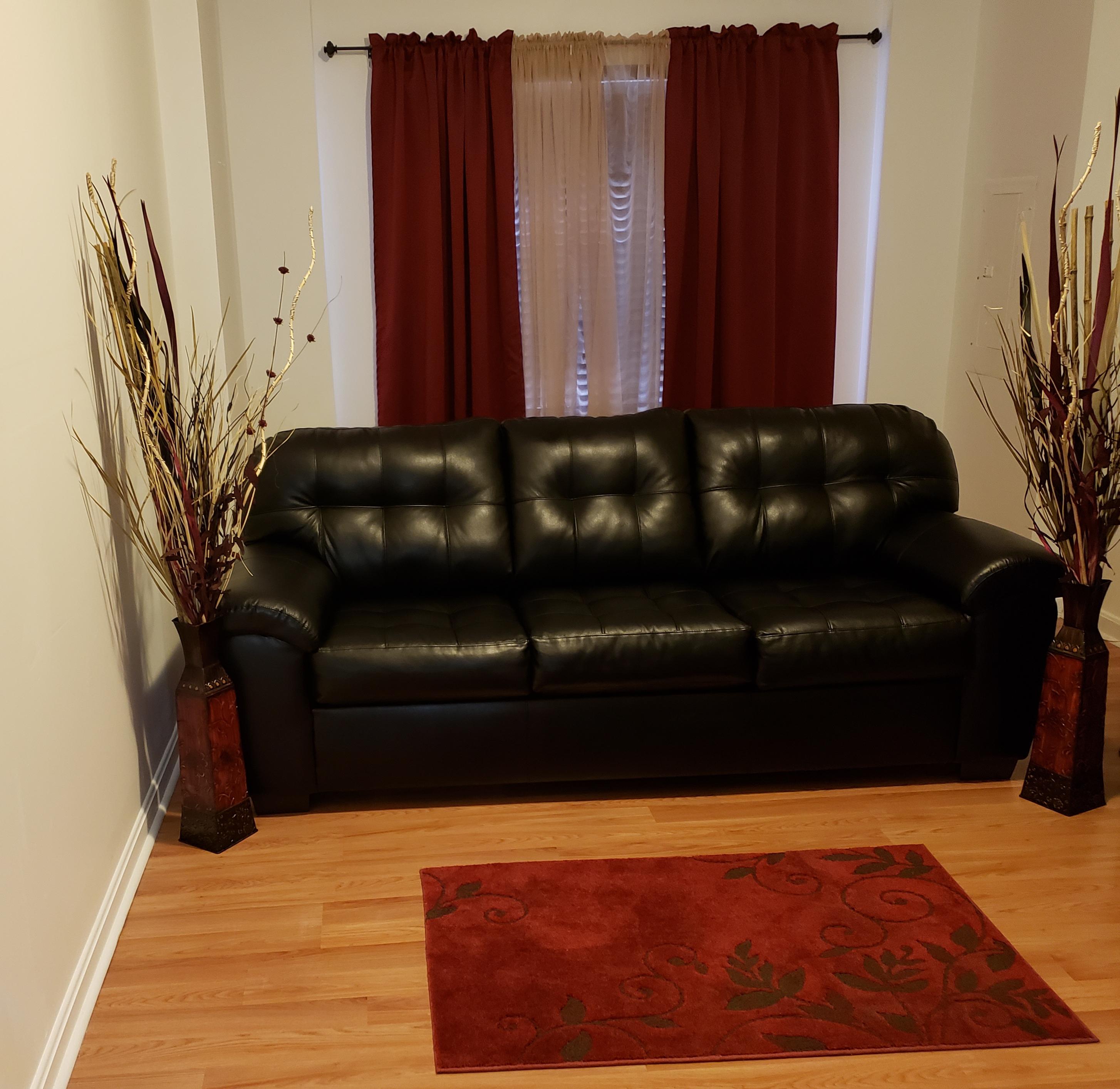 Black Queen Size Sleep Sofa