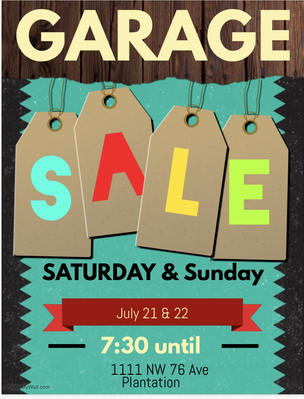 Multifamily Yard Sale Saturday & Sunday