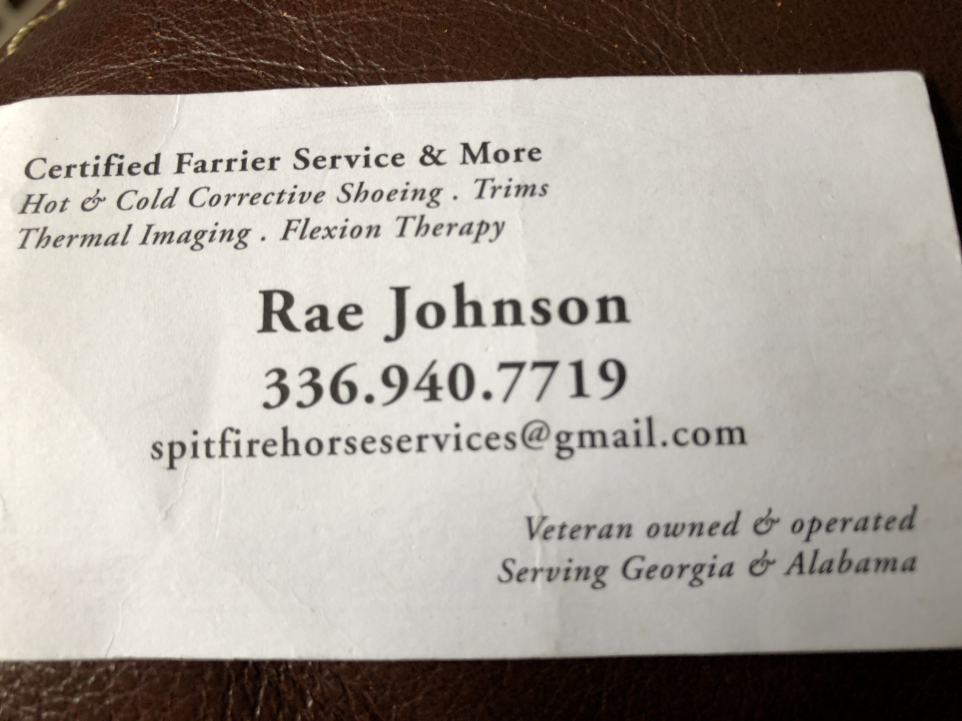 Horseshoeing and Farrier Services