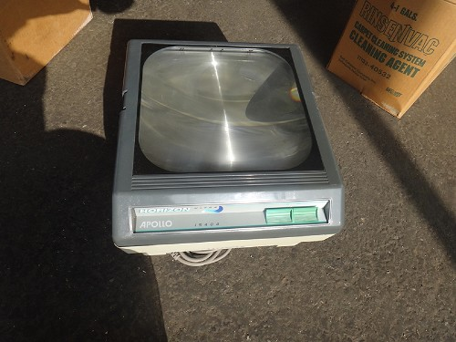 APOLLO/ HORIZON ULTRA 15404 OVERHEAD PROJECTOR