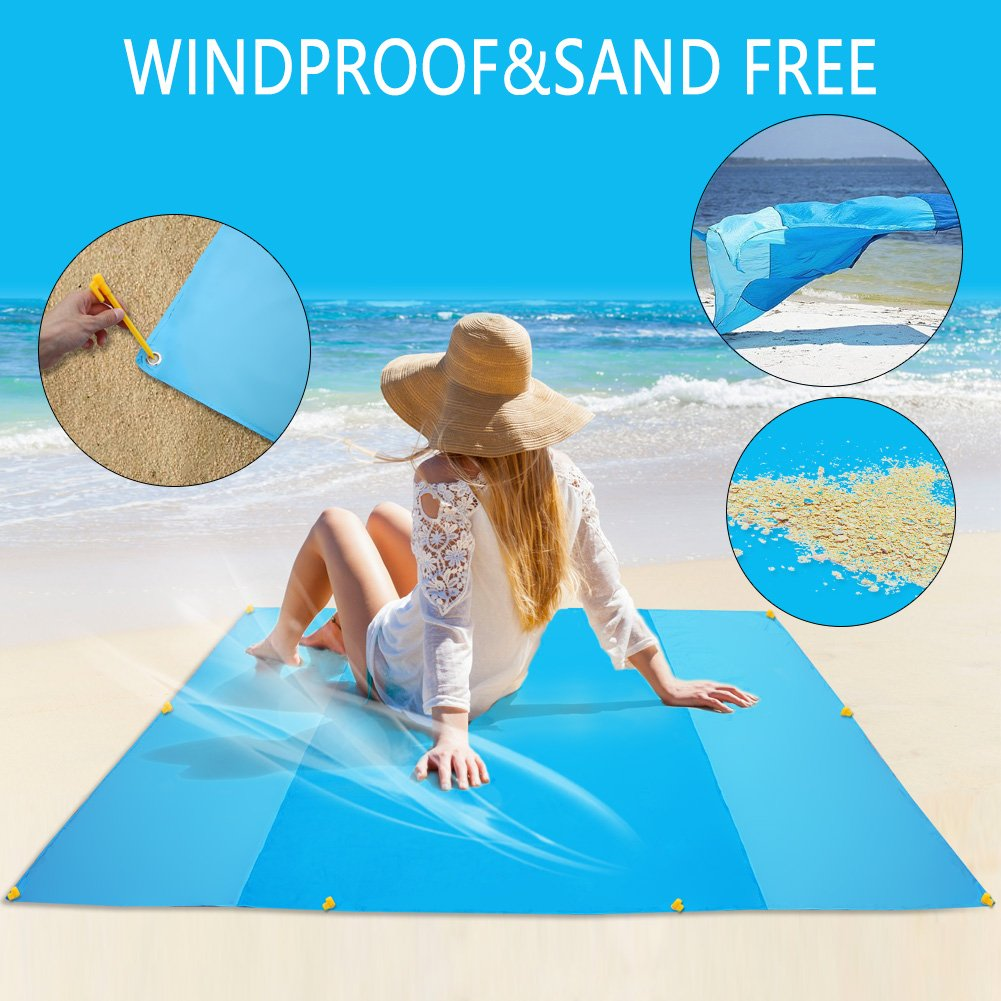 IdealHouse Sand-Free Beach Blanket.