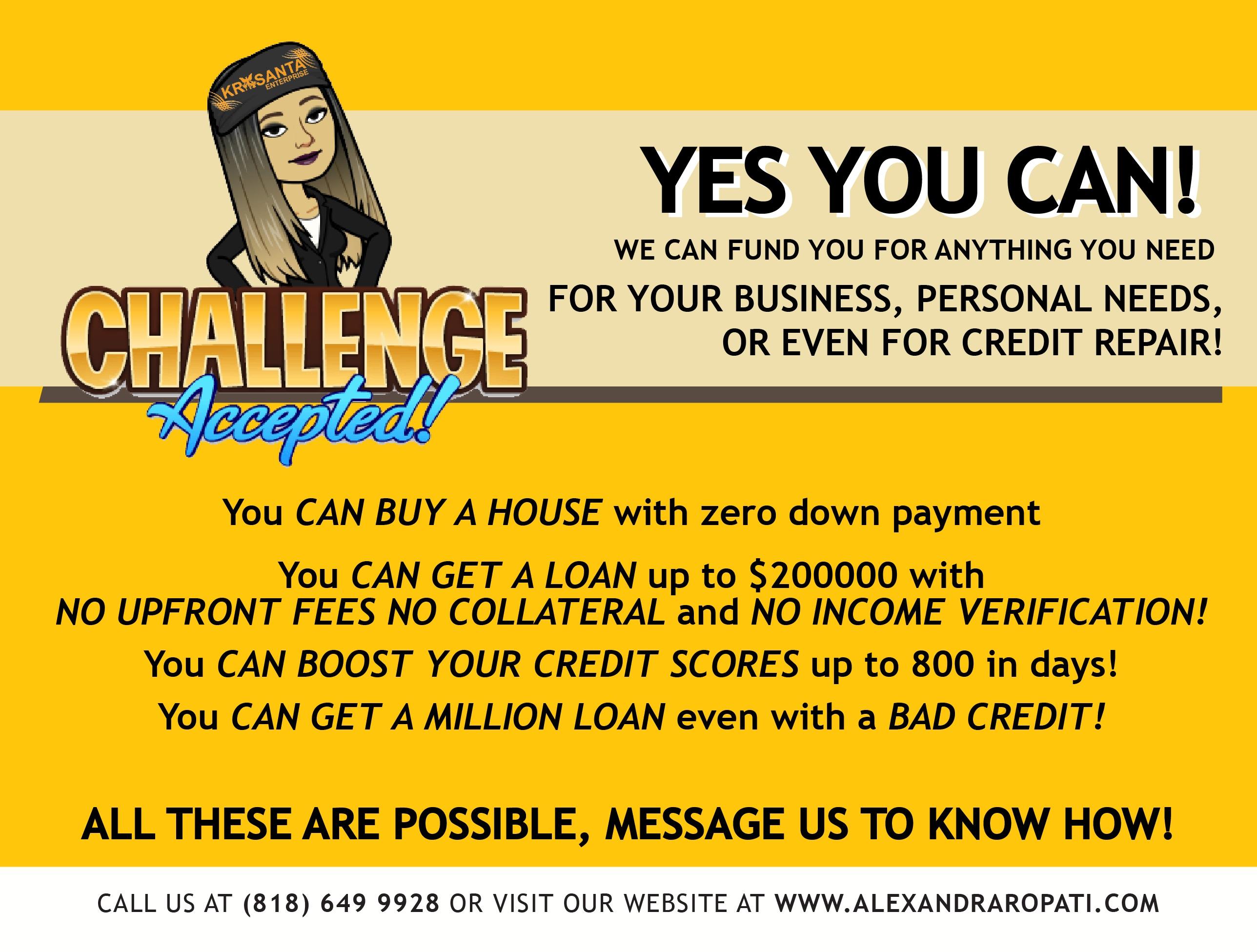 GET A CASH GET A HOUSE!