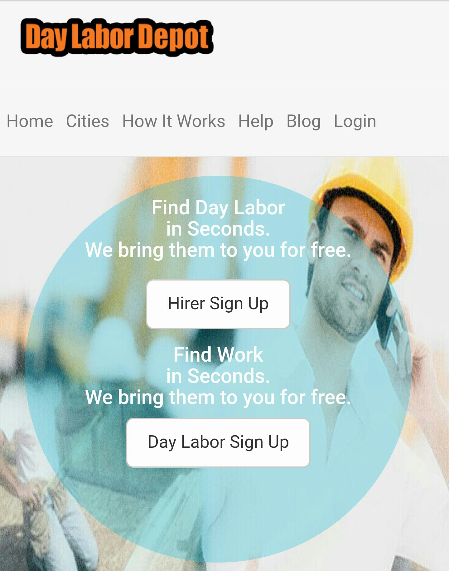 DAY LABOR WANTED