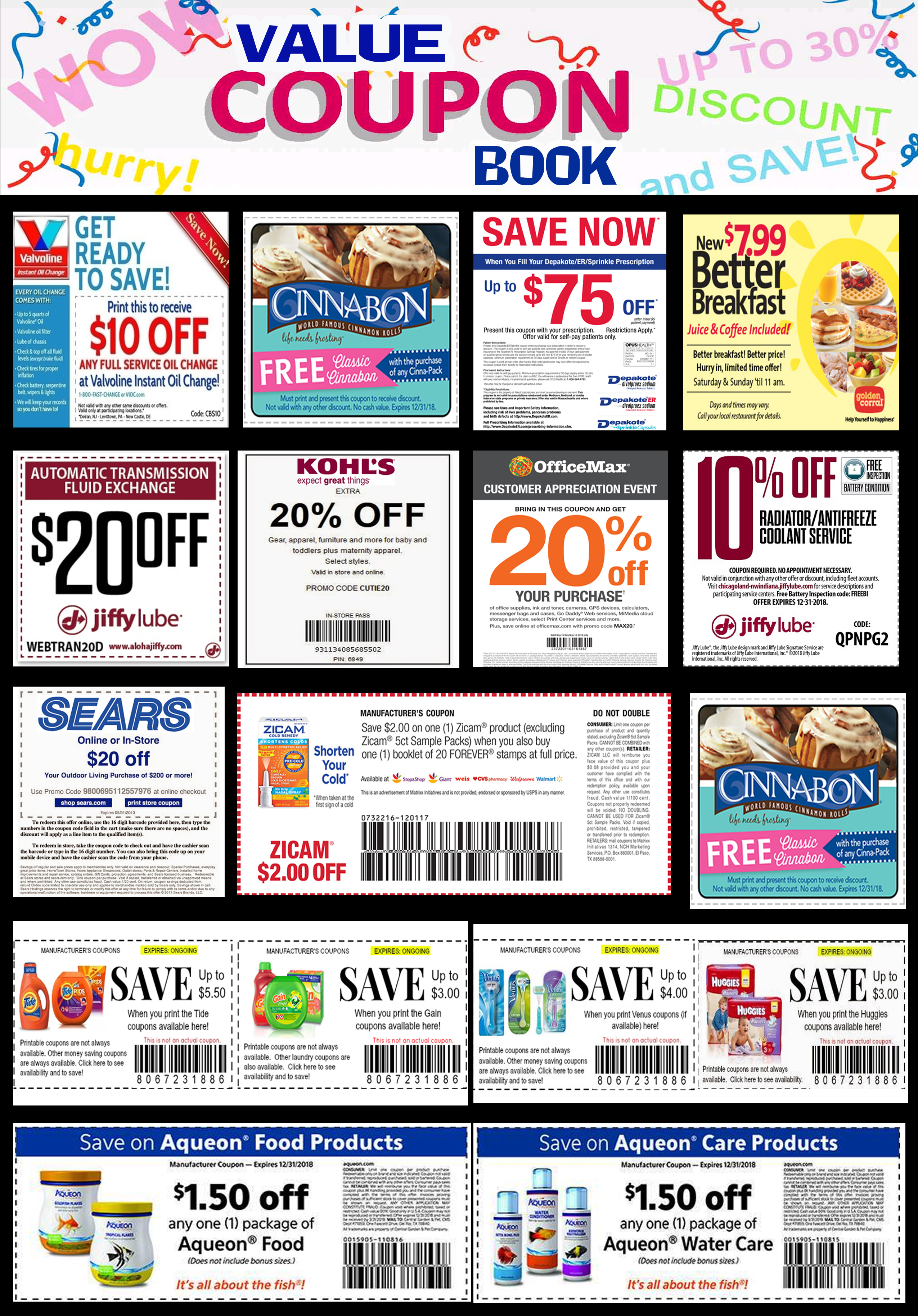 Daily Coupons | Big Savings | Get freee coupons right here!