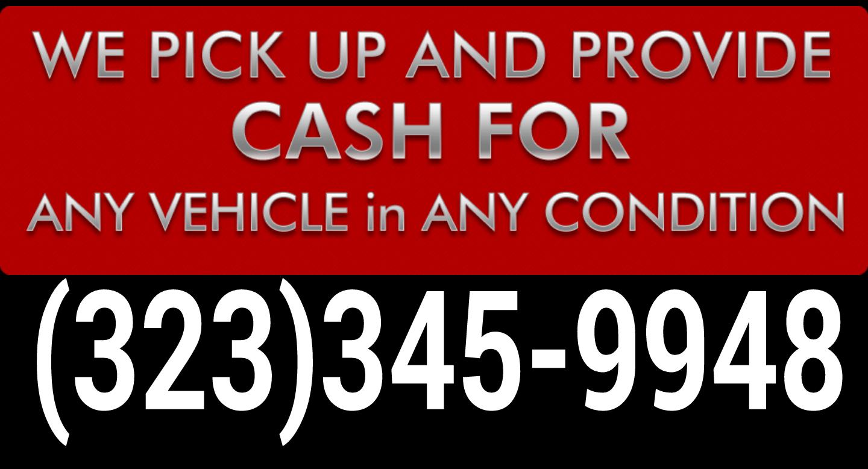 CASH FOR JUNK CARS, CASH FOR CARS