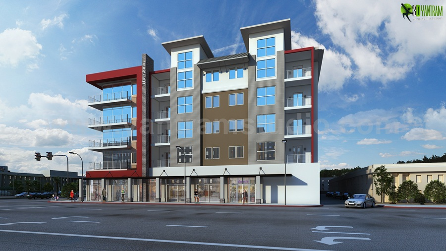 Acquire Architectural Rendering Service and CGI Design Vegas, USA