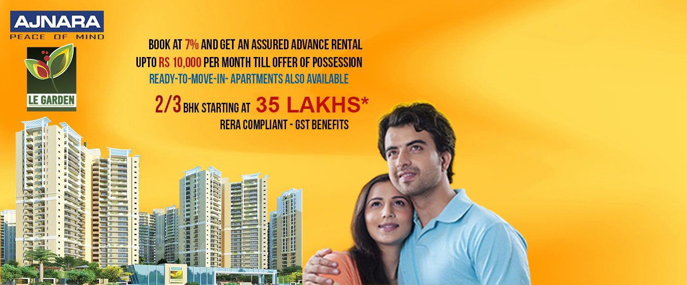 Ajnara Le Garden  Greater noida for booking Call Us: +919071760760
