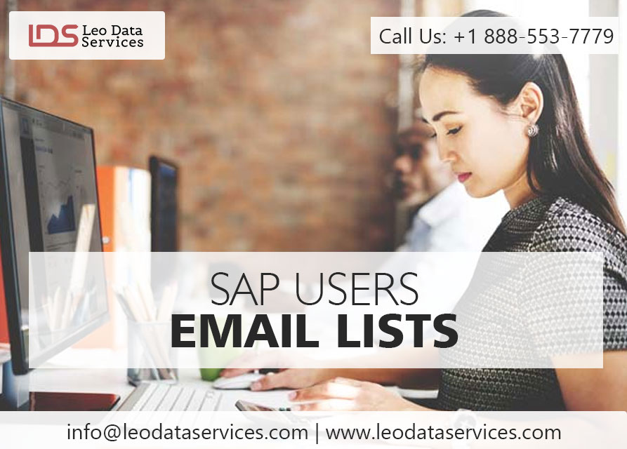 SAP Users email Lists | SAP Users Mailing Lists | Leo Data Services