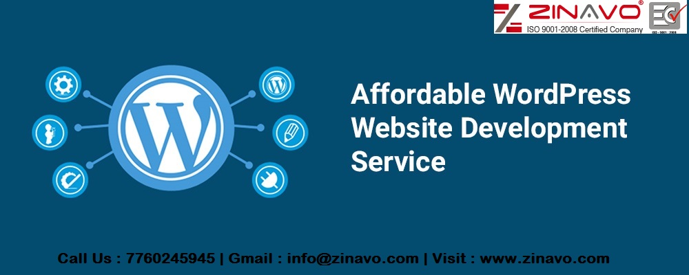 Affordable Wordpress web design and development services