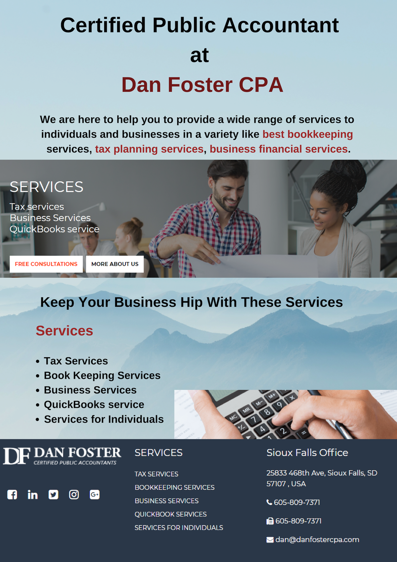 Find an Accountant: Dan Foster CPA