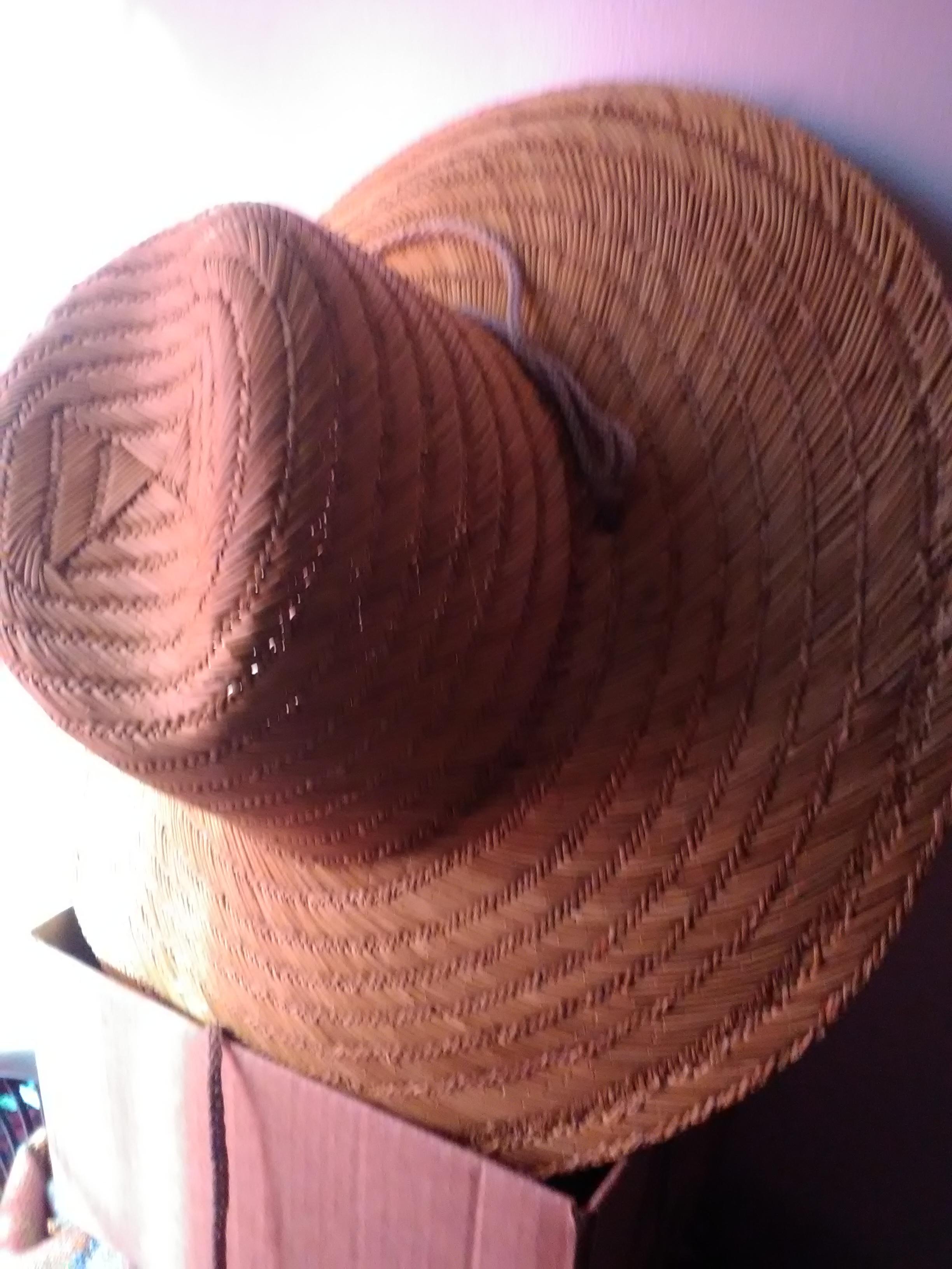 Gardener's Straw Hat (Large)