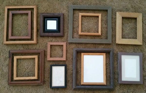 Picture Framing DIY Materials