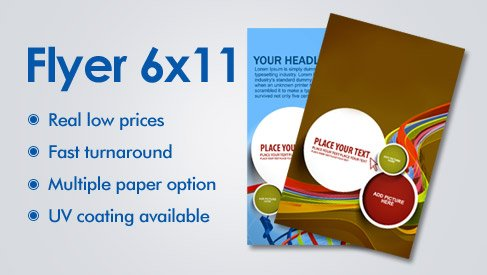 Market Your Store with Online Flyer Printing from PrintPapa