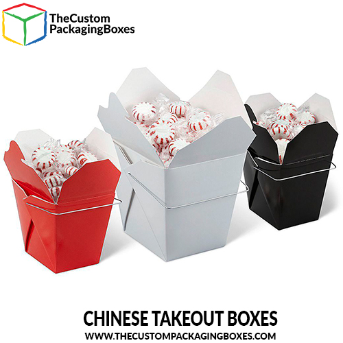 Chinese takeout boxes with the best printing