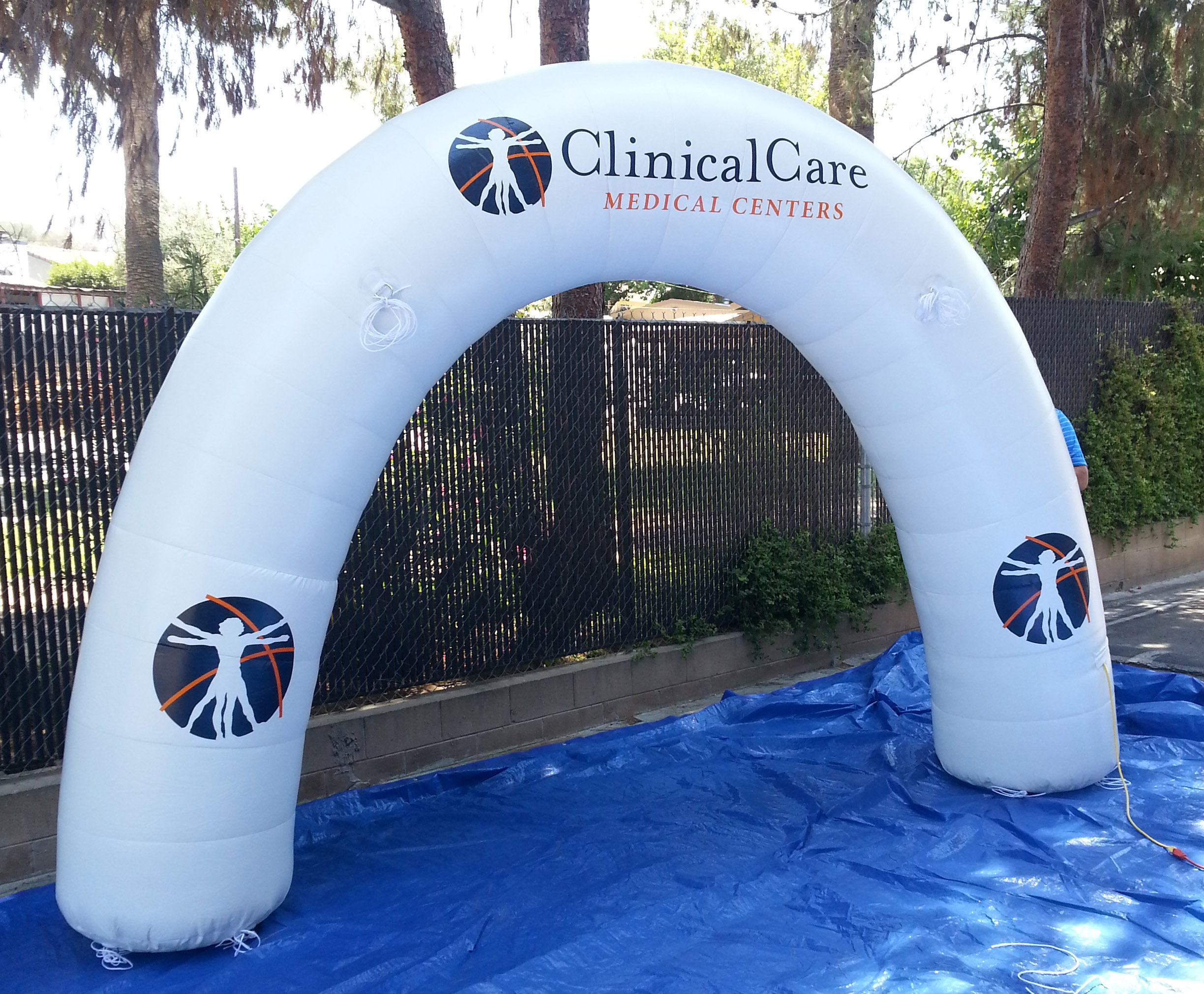 Add a special touch to your event or brand in J.D's Inflatable Arches & Tunnels