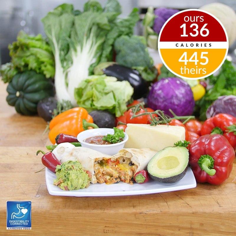 Healthy Burrito Chicken-Veg Combo