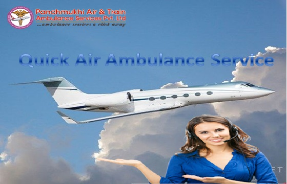 Get Quick Air Ambulance Services in Bilaspur with ICU Setup