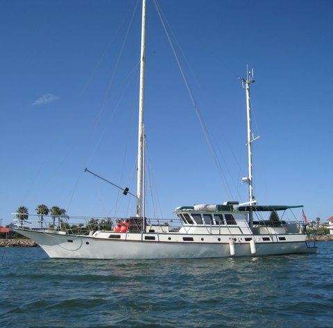 2003 67ft Custom Pilothouse Motorsailer