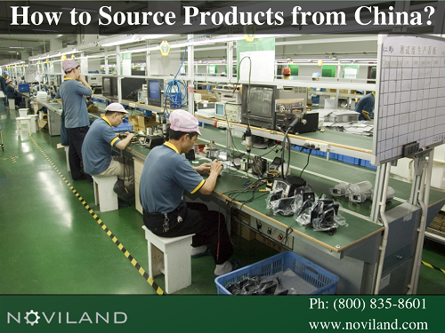 Choose Noviland for souring your product in China