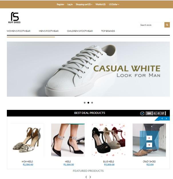 E-commerce Free Website Templates