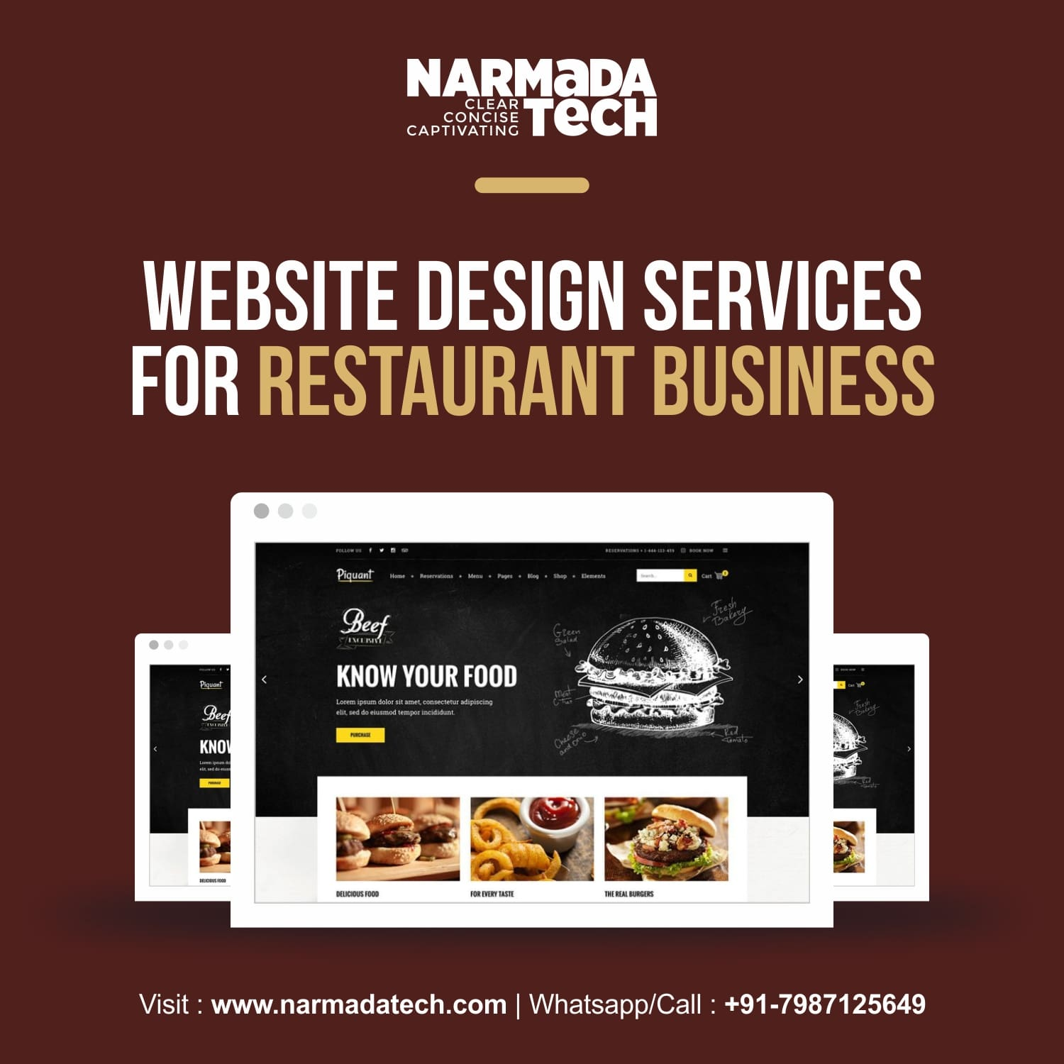 Website Design Services for Restaurant Businesses
