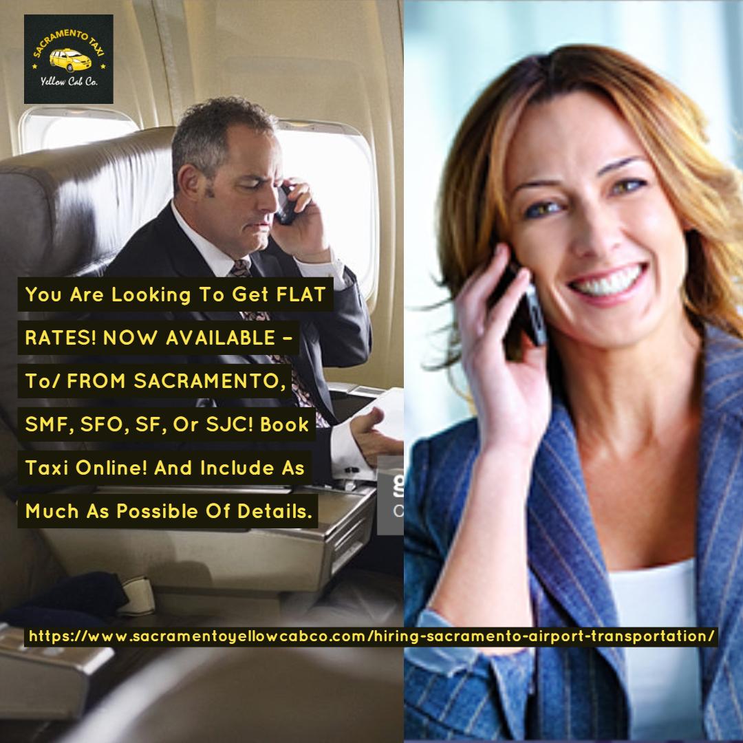 Airport transportation Roseville $60, Sacramento CA to SMF Or 200- 230 sfo