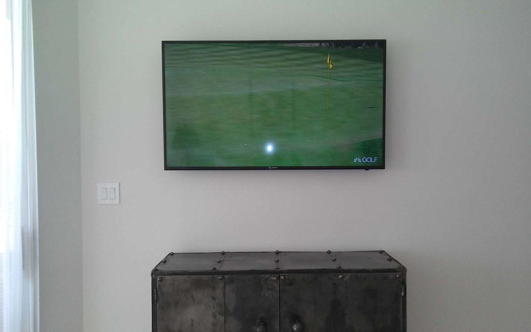 Professional TV installation service