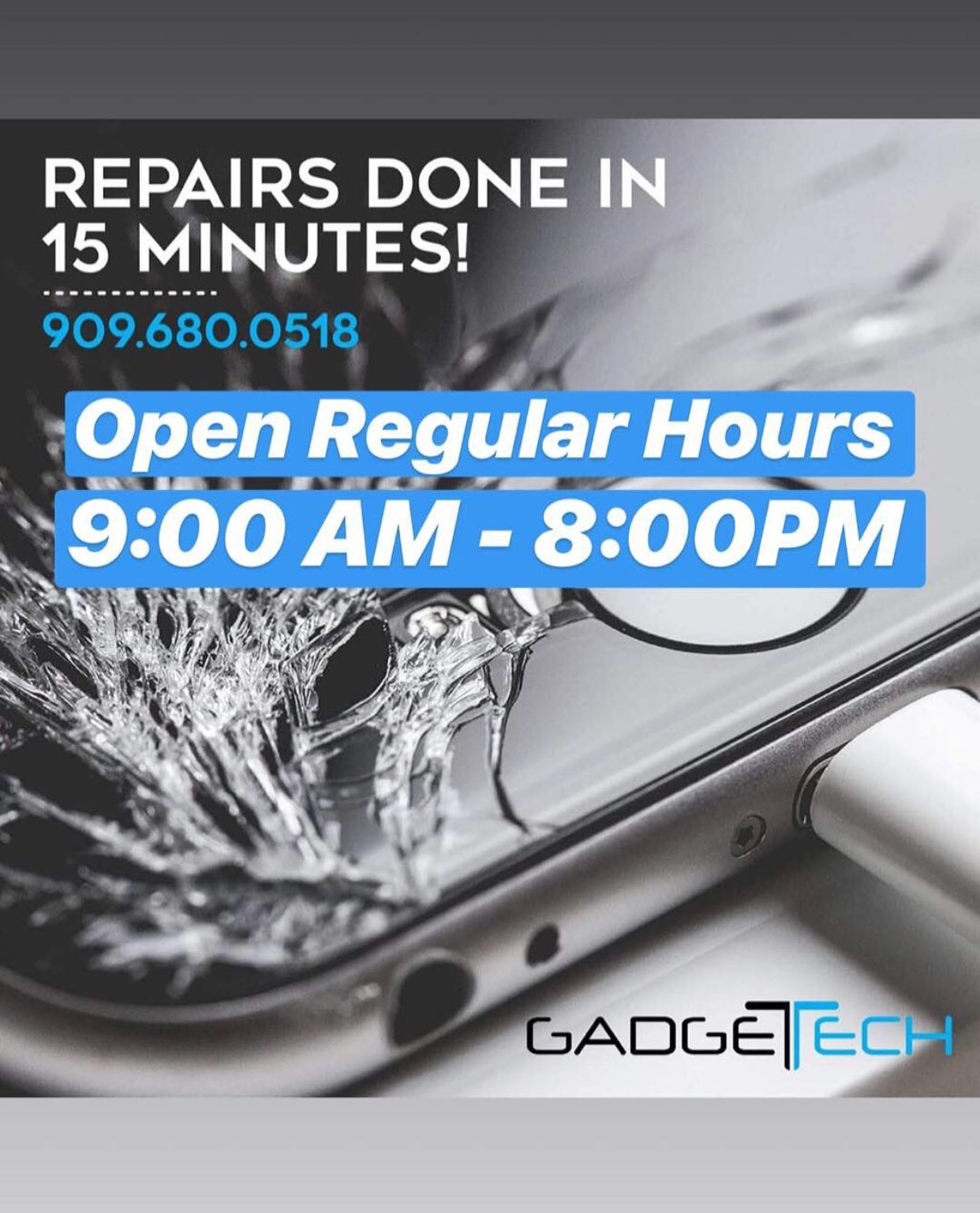 iPhone, Samsung, LG Screen and Battery Repairs and More!