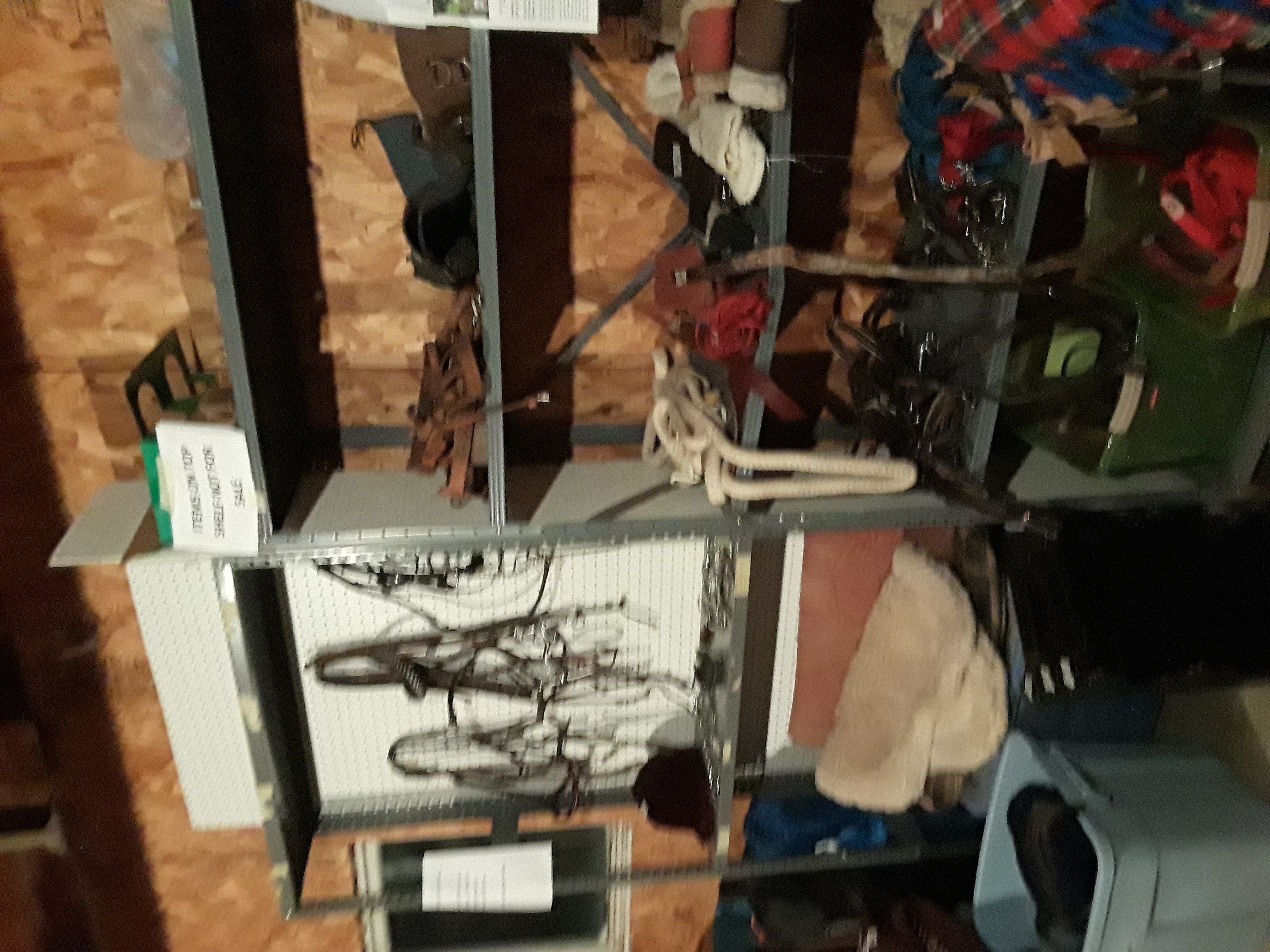 Multi Family Garage Sale WITH Horse Equipment & Show Attire