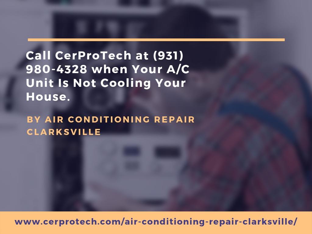 Air Conditioning Repair in Clarksville