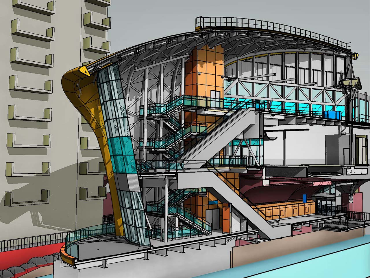 Architectural BIM Services by CAD Outsourcing